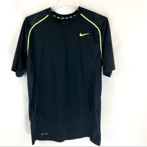 ⭐️NIKE Mens Dri-fit Navy Blue Shirt